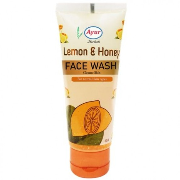 Ayur Herbals Lemon And Honey Face Wash