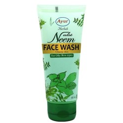 Ayur Herbals Neem and Tulsi Face Wash